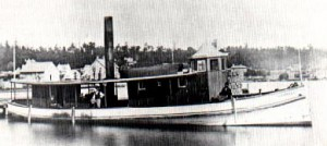 Steamer Carriella, Barrie, Ontario
