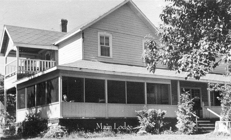 Main Lodge circa 1950
