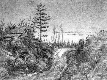 Muskoka Road, circa 1870.